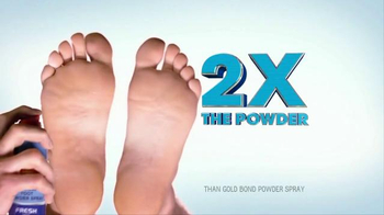 Gold Bond Foot Powder Spray TV Spot, 'Happy Feet' Feat. Shaquille O'Neal - Thumbnail 9