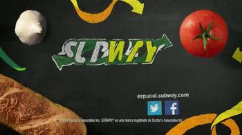 Subway Italian BMT TV Spot, 'Featured $5-Footlong de Mayo' [Spanish] - Thumbnail 7