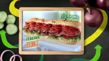 Subway Italian BMT TV Spot, 'Featured $5-Footlong de Mayo' [Spanish] - Thumbnail 6