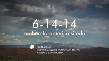 Smithsonian Institution TV Spot, 'National Anthem