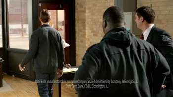 State Farm TV Spot, 'Raji Dance' Featuring B.J. Raji and Aaron Rodgers - Thumbnail 10