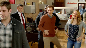 State Farm TV Spot, 'Raji Dance' Featuring B.J. Raji and Aaron Rodgers - Thumbnail 9