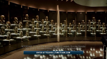 Allstate TV Spot. 'Football Hall of Fame Sweepstakes' Featuring Howie Long - 2 commercial airings