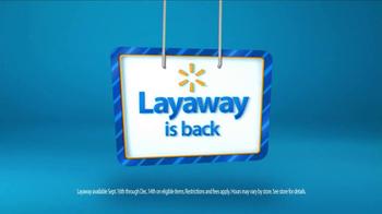 Walmart Layaway TV Spot, 'Best Day Ever' - Thumbnail 7
