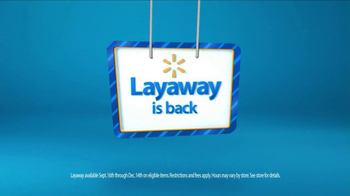 Walmart Layaway is Back TV Spot, 'Miss Lucky Ducky' - Thumbnail 6