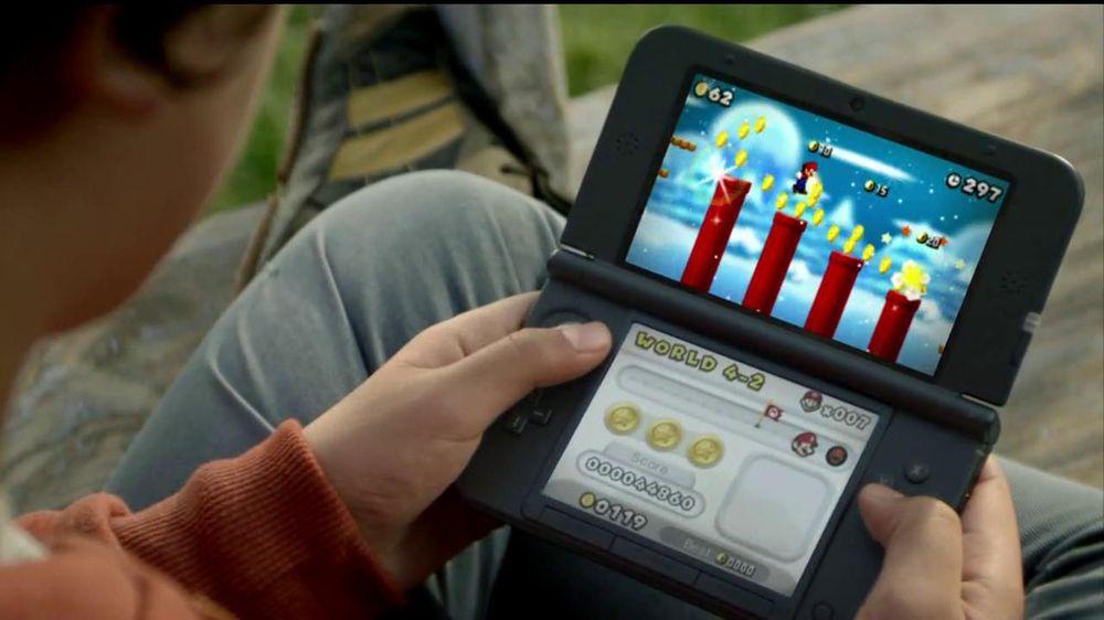 New Super Mario Bros  2 TV Commercial, 'Gold Grabbing' - Video