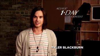 ACUVUE 1-Day Contest Winner TV Spot Featuring Tyler Blackburn - Thumbnail 1