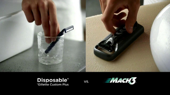 Gillette TV Spot for Mach3 - Thumbnail 1