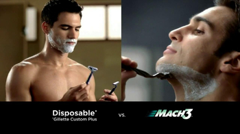 Gillette TV Spot for Mach3 - Thumbnail 3