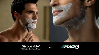 Gillette TV Spot for Mach3