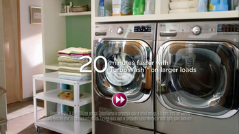 LG Appliances TV Spot, '20 Percent More'