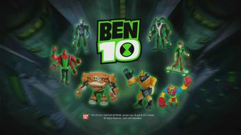 Ben 10 Figures TV Spot