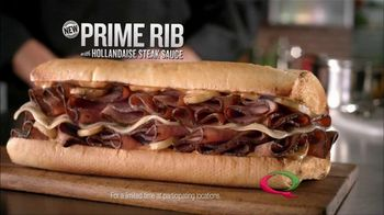 Quiznos Prime Rib Sandwich TV Spot