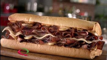 Quiznos Prime Rib Sandwich TV Spot - Thumbnail 1
