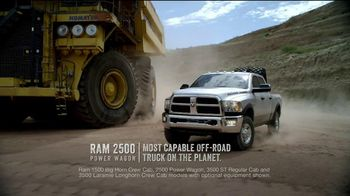 Ram Trucks Power Days TV Spot, 'Only One Reason' - 34 commercial airings
