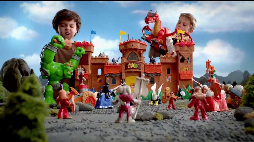 Imaginext Eagle Talon Castle Tv Commercial Ispottv
