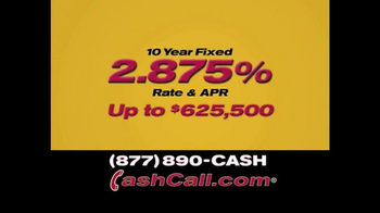Cash Call TV Spot for The Do-Over Refi