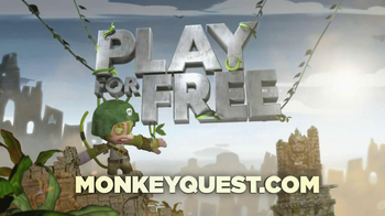 Nickelodeon TV Spot for Monkey Quest - Thumbnail 9