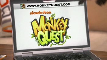 Nickelodeon TV Spot for Monkey Quest - Thumbnail 8
