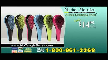 Michel Mercier TV Spot for Ultimate Detangling Brush