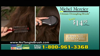 Michel Mercier TV Spot for Ultimate Detangling Brush - Thumbnail 9