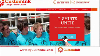 CustomInk TV Spot for Custom T-Shirts