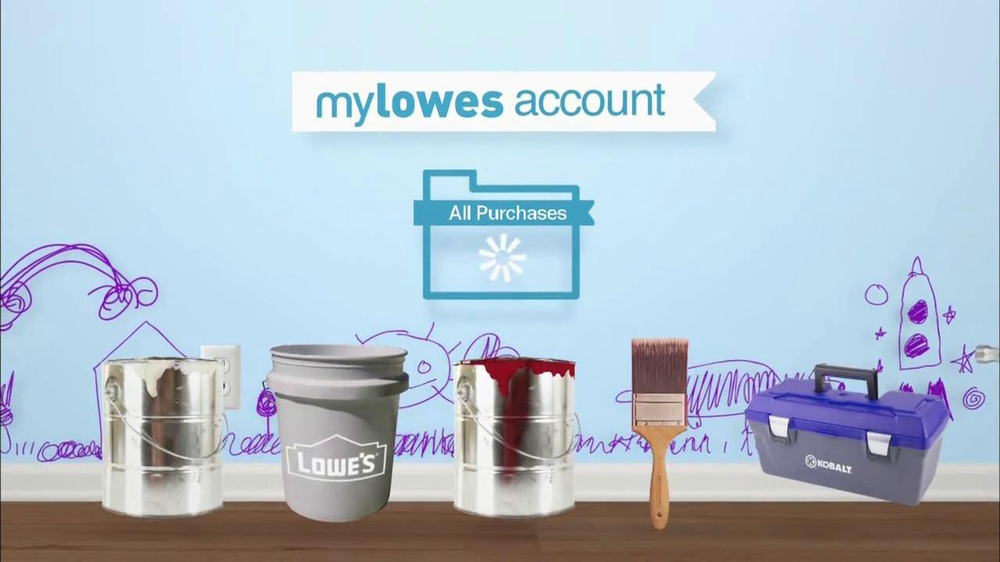 Lowe's Home Improvement TV Commercial for MyLowes