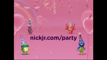 Nickelodeon TV Spot for Nick Jr. Party Themes