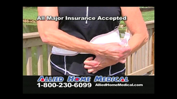 Allied Home Medical TV Spot for Back Pain DDS 500 - Thumbnail 6