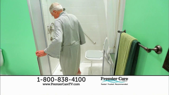 Premier Care TV Spot for Walk-In Showers - Thumbnail 8