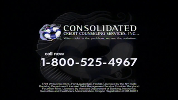 Consolidated Credit Counseling Services TV Spot for Debt Options - Thumbnail 9