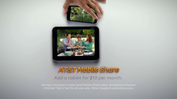 AT&T Mobile Share Value Plans TV Spot, 'Family Life' - Thumbnail 9