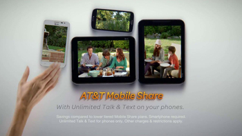 AT&T Mobile Share Value Plans TV Spot, 'Family Life' - Thumbnail 8