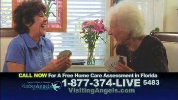 Visiting Angels TV Spot 'The Choice in Homecare' - Thumbnail 4