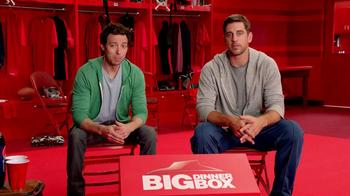 Pizza Hut Big Dinner Box TV Spot, 'Aaron Rogers Look-Alike' - Thumbnail 1