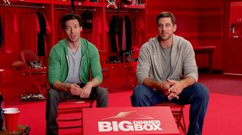 Pizza Hut Big Dinner Box TV Spot, 'Aaron Rogers Look-Alike' - Thumbnail 2