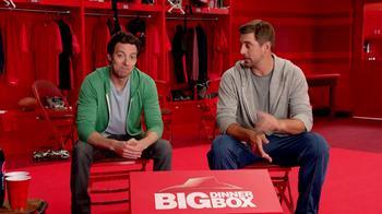 Pizza Hut Big Dinner Box TV Spot, 'Aaron Rogers Look-Alike' - Thumbnail 3