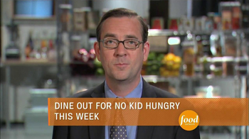 No Kid Hungry TV Spot, 'Food Network: Chop Child Hunger'