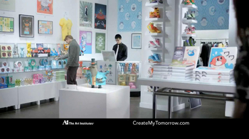 The Art Institutes TV Spot, 'Mustache Doodle' - Thumbnail 1