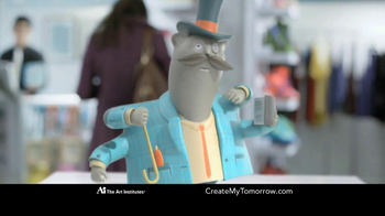 The Art Institutes TV Spot, 'Mustache Doodle' - Thumbnail 6