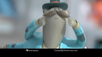 The Art Institutes TV Spot, 'Mustache Doodle' - Thumbnail 8