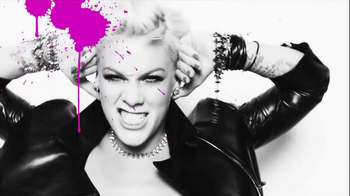 CoverGirl Makeup TV Spot, 'Blow Me One Last Kiss' Featuring Pink - Thumbnail 7