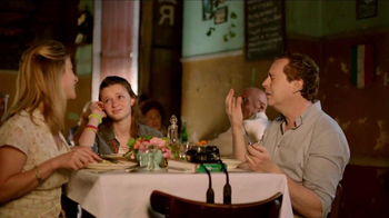 MasterCard TV Spot, \'Priceless: Italian Restaurant\'