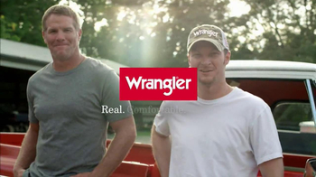 Wrangler TV Spot for UShape Jeans Featuring Brett Favre and Dale Earnhardt