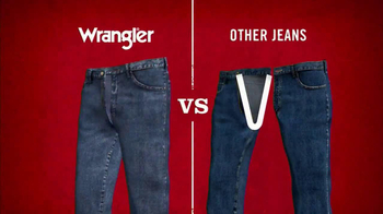 Wrangler TV Spot for UShape Jeans Featuring Brett Favre and Dale Earnhardt - Thumbnail 5