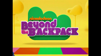 Nickelodeon TV Spot for Beyond The Backpack - Thumbnail 5
