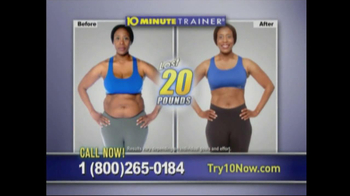 10 Minute Trainer TV Spot for The Body You Want - Thumbnail 7