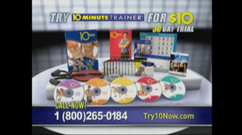 10 Minute Trainer TV Spot for The Body You Want - Thumbnail 8