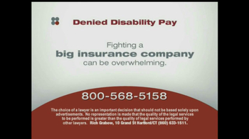 Sokolove Law, LLC TV Spot for Denied Disability Pay - Thumbnail 4