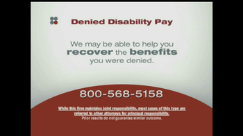 Sokolove Law, LLC TV Spot for Denied Disability Pay - Thumbnail 7